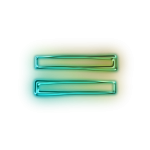 110660-glowing-green-neon-icon-alphanumeric-equal-sign
